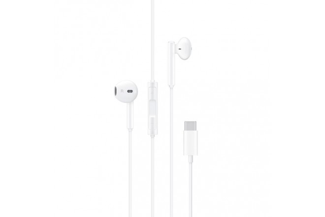 AudIfonos Huawei Alambricos InEar USBC Blanco