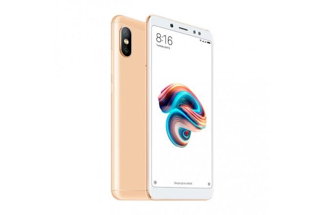 Celular Libre XIAOMI REDMI Note 5 Dorado DS 4G
