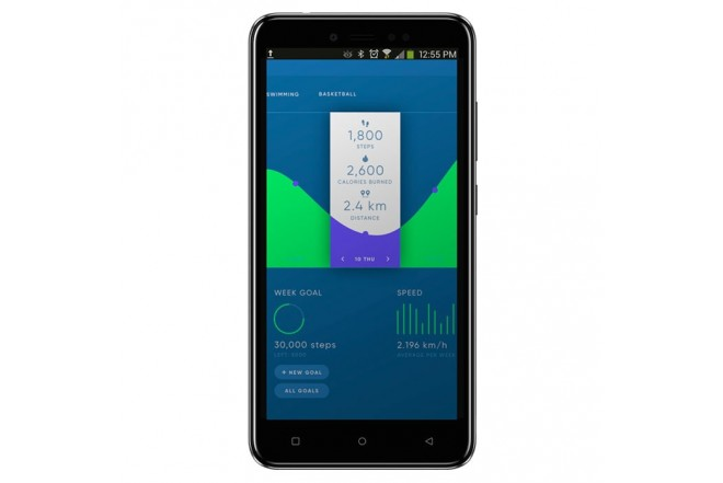 Celular Libre DOPPIO Forza DS 4G Negro