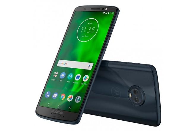Celular Libre MOTOROLA Moto G6 Plus Azul Indigo DS 4G + Audífonos