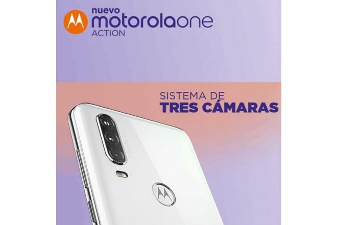 Celular MOTOROLA One Action 128GB Azul7
