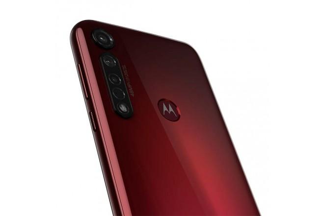 Celular MOTOROLA G8 Plus 64GB Rojo12
