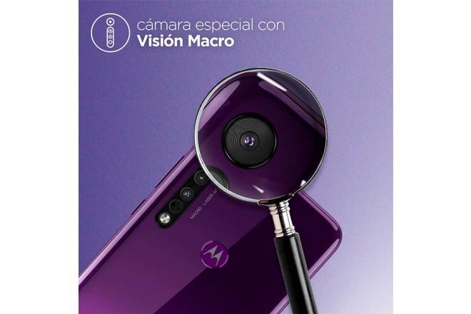 Celular MOTOROLA One Macro 64GB Morado14
