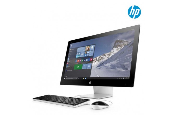 "PC All in One HP 27-N102LA 27"" Core™ i7 Negro/Slver"