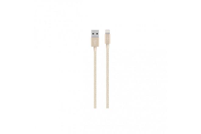 Cable BELKIN USB/Lightning 1,2M Dorado Premium