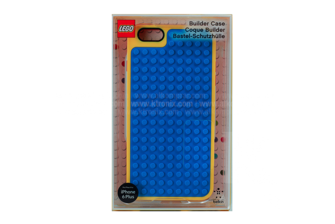 Carcasa BELKIN Lego iPhone 6 Plus Azul/Amarillo
