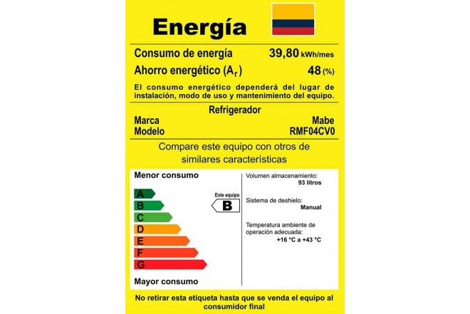 Minibar MABE FR 110Lt RMF04C Negro4