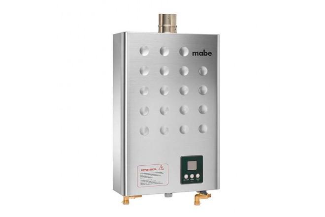 Calentador de Paso MABE 16Lt Tiro Forzado CPGM1630 Inox3