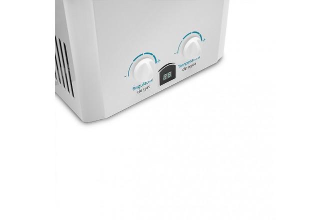 Calentador de Paso MABE 10Lt Tiro Natural CMP10TNB Blanco3