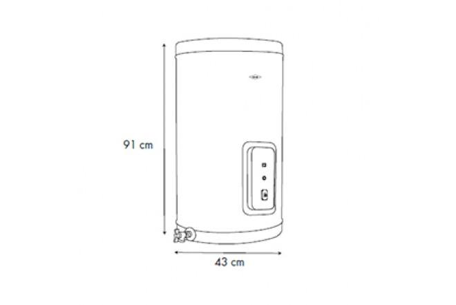 Calentador de Acumulación Haceb Eléctrico 20 Galones 220V8