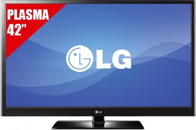 "TV 42"" Plasma LG 42PT250R HD"