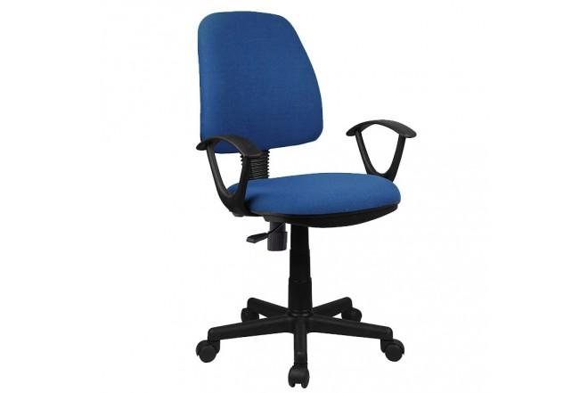 Silla de Oficina Azul OFFICE MART 8022