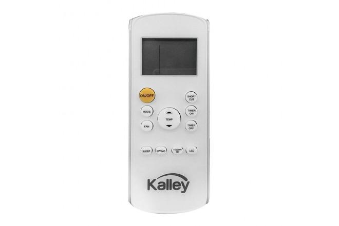 Aire Acondicionado KALLEY Convencional 9000BTU 110V Blanco5