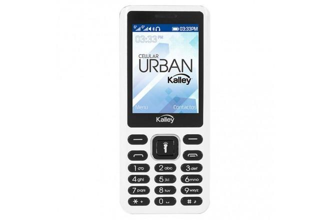 Celular Libre KALLEY Urban Blanco DS 2G