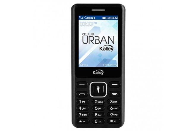 Celular Libre KALLEY Urban Negro DS 2G