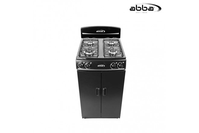 "Estufa ABBA 20"" AB1001N N Gas Natural Color Negro"