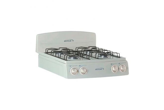 Estufa de Mesa ABBA 4P SG4001 A Gas Propano Color Almendra