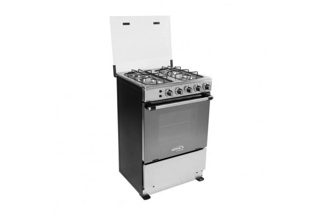 Estufa de Piso ABBA 305-4 HV 60Cm EEGP IVF Acero