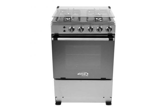 Estufa de Piso ABBA 305-4 HV 60Cm EEGP IVF Acero1