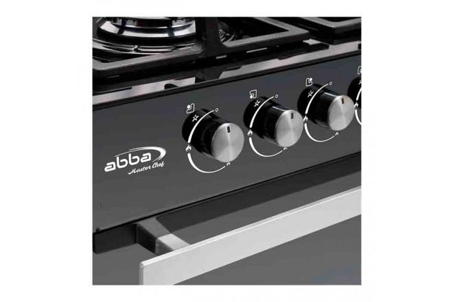 Estufa de Piso ABBA 202-4 HV60Cm EAGP NVJ Negro136