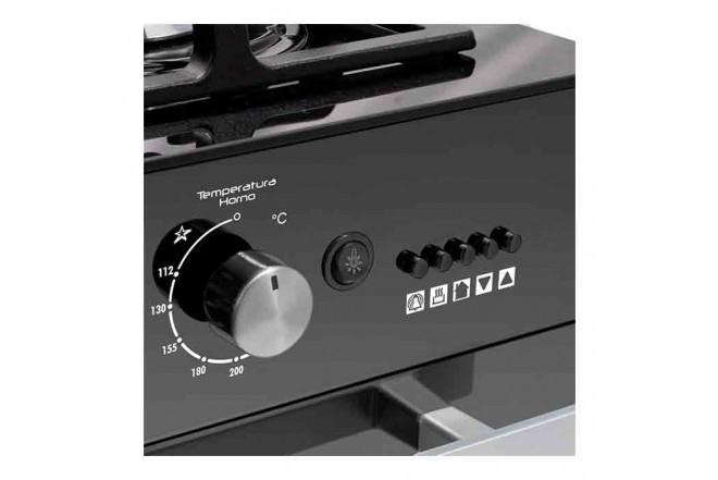 Estufa de Piso ABBA 202-4 HV60Cm EAGP NVJ Negro137