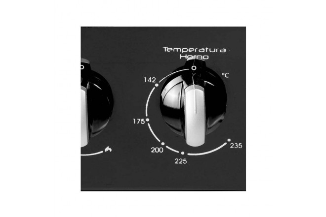 Estufa de Piso ABBA 202-3 HV60Cm EAGN NVI Negro3
