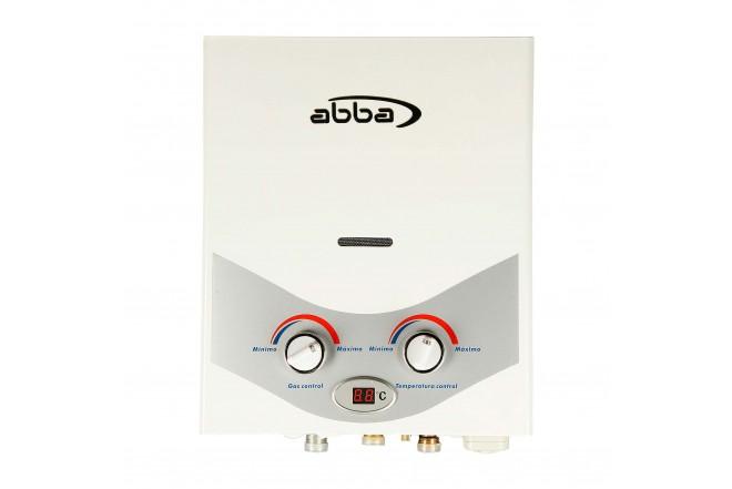 Calentador de Paso ABBA AID-5 Tiro Natural 5Lt GN Blanco1
