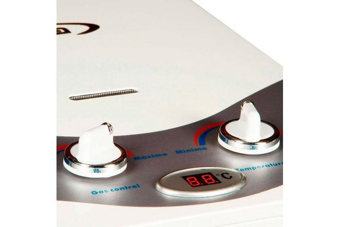 Calentador de Paso ABBA AID-5 Tiro Natural 5Lt GN Blanco4