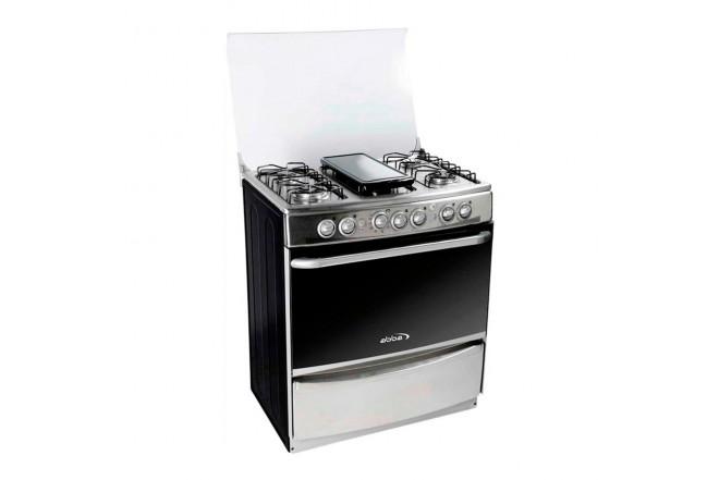 Estufa de Piso ABBA 30 RG 802-4N PL Inox3