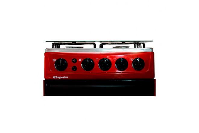 Estufa de Piso SUPERIOR Aluminium VH50EE GN Rojo18