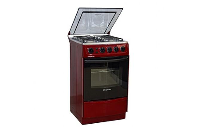 Estufa de Piso SUPERIOR Aluminium VH50EE GN Rojo12