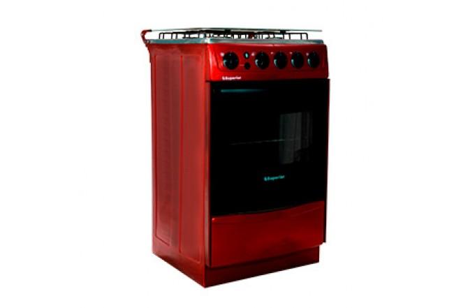 Estufa de Piso SUPERIOR Aluminium VH50EE GN Rojo11