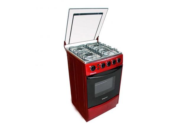 Estufa de Piso SUPERIOR Aluminium VH50EE GN Rojo1