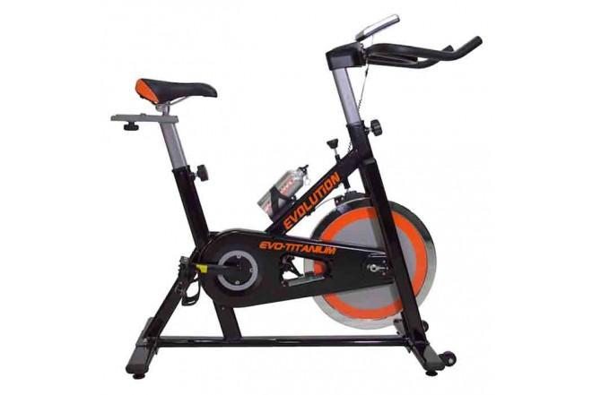 Bicicleta de Spinning Titanium EVOLUTION-e