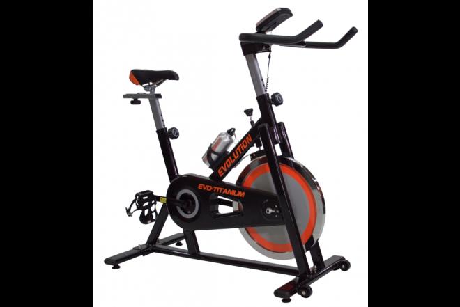 Bicicleta de Spinning Titanium EVOLUTION-d