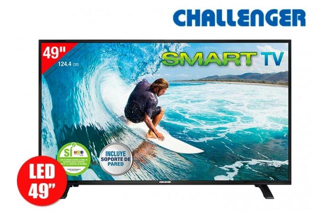 "Tv 49"" 124cm CHALLENGER 49S30FHD Internet T2"