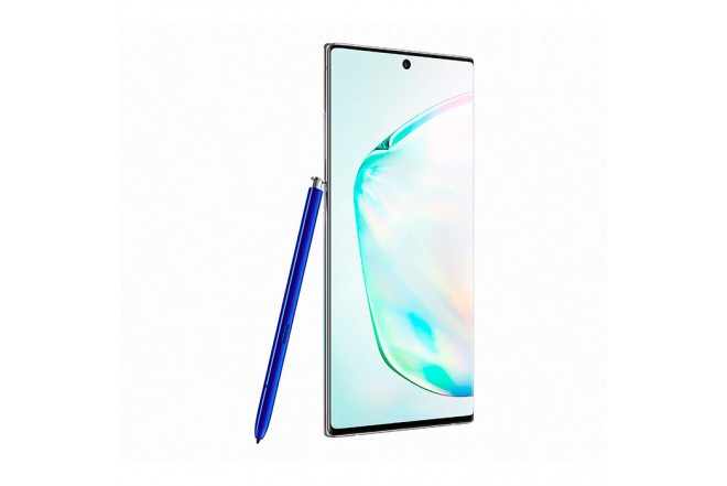 Celular SAMSUNG Galaxy Note 10+ DS 256 GB Plateado2
