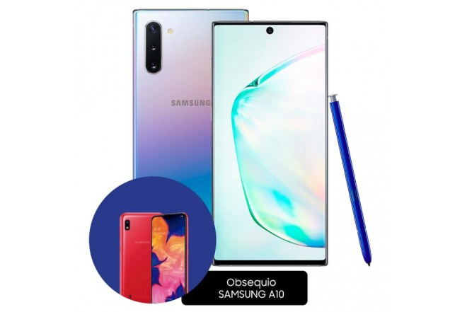 Celular SAMSUNG Galaxy Note 10 DS 256 GB  Plateado17