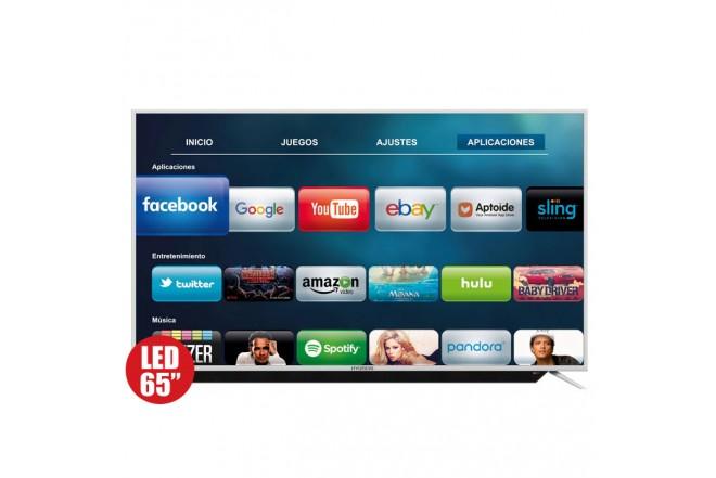 """TV 65"""" 163cm HYUNDAI 6505 4K UHD Internet"""