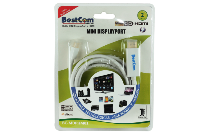 Cable BESTCOM Mini Displayport, HDMI (Accesorios)