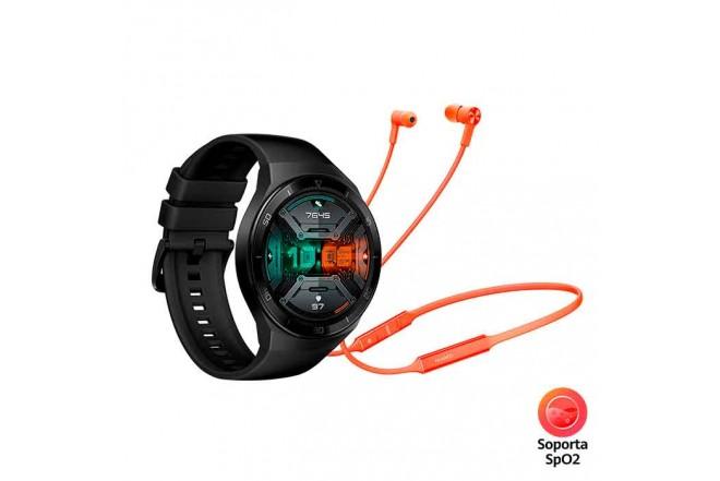 Reloj HUAWEI GT2e 46MM Negro + Audífono Freelace 1
