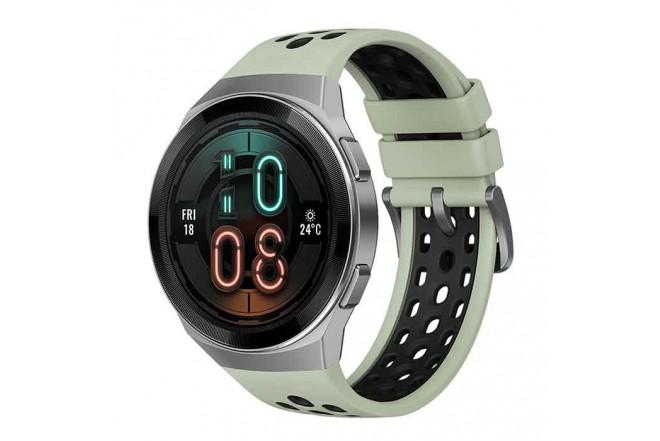 Reloj HUAWEI GT2e 46MM Verde + Audífono Freelace 5