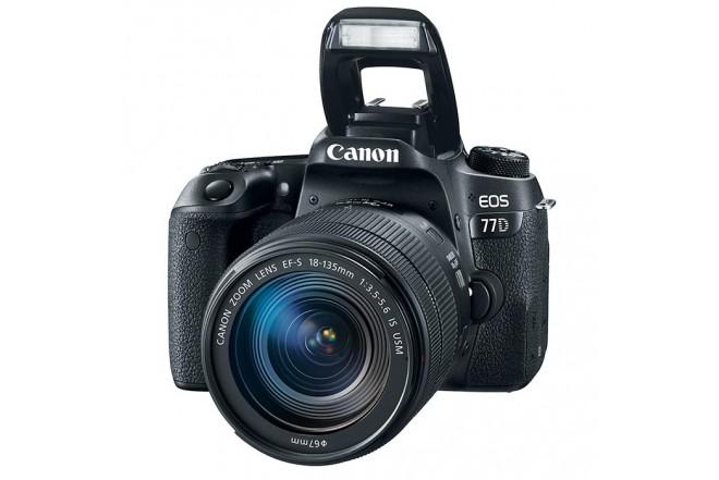 Cámara Profesional Canon EOS 77 D-3