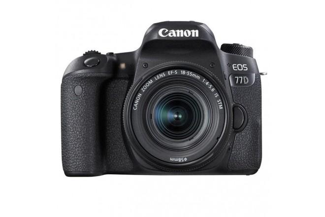 Cámara Profesional Canon EOS 77 D-4