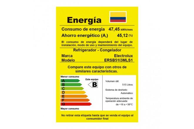 Nevecón Electrolux 568 lt ERSB51 G 10