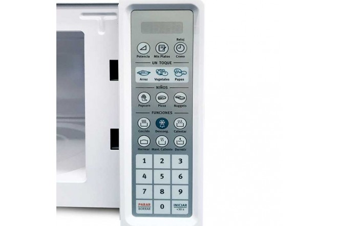Horno Microondas ELECTROLUX 0.7 PC EMDN20S3MLW Blanco