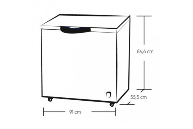 Congelador Horizontal ELECTROLUX 200L EFCC20C3