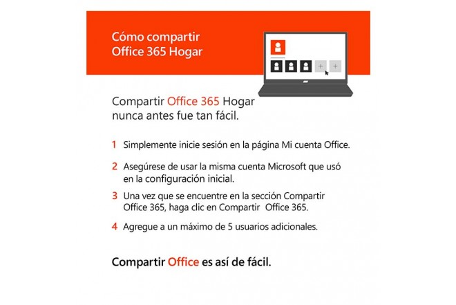 Pin Virtual OFFICE 365 Hogar (6 Usuarios Online)8