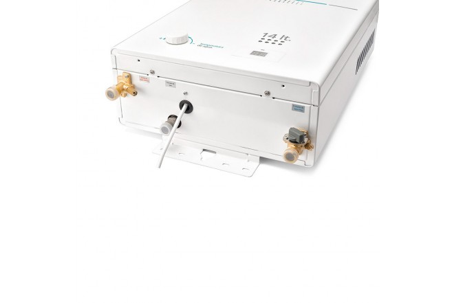 Calentador de Paso MABE de Tiro Forzado 14L CMD14TFBC Blanco 4