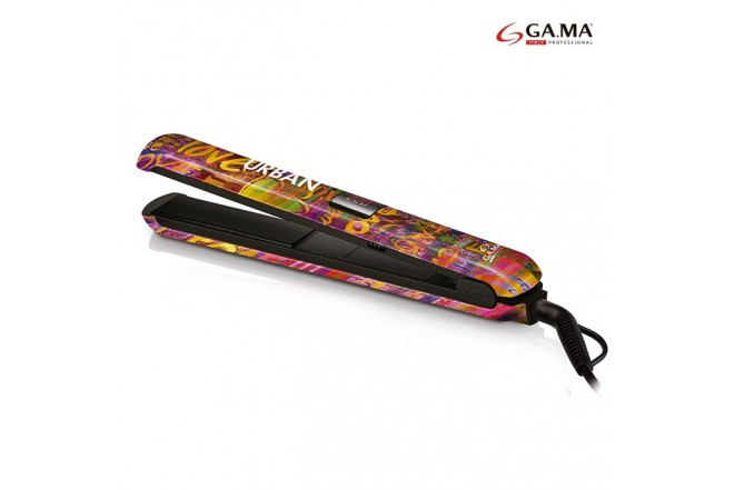 Plancha de Cabello GAMA Urban Style Digital Love